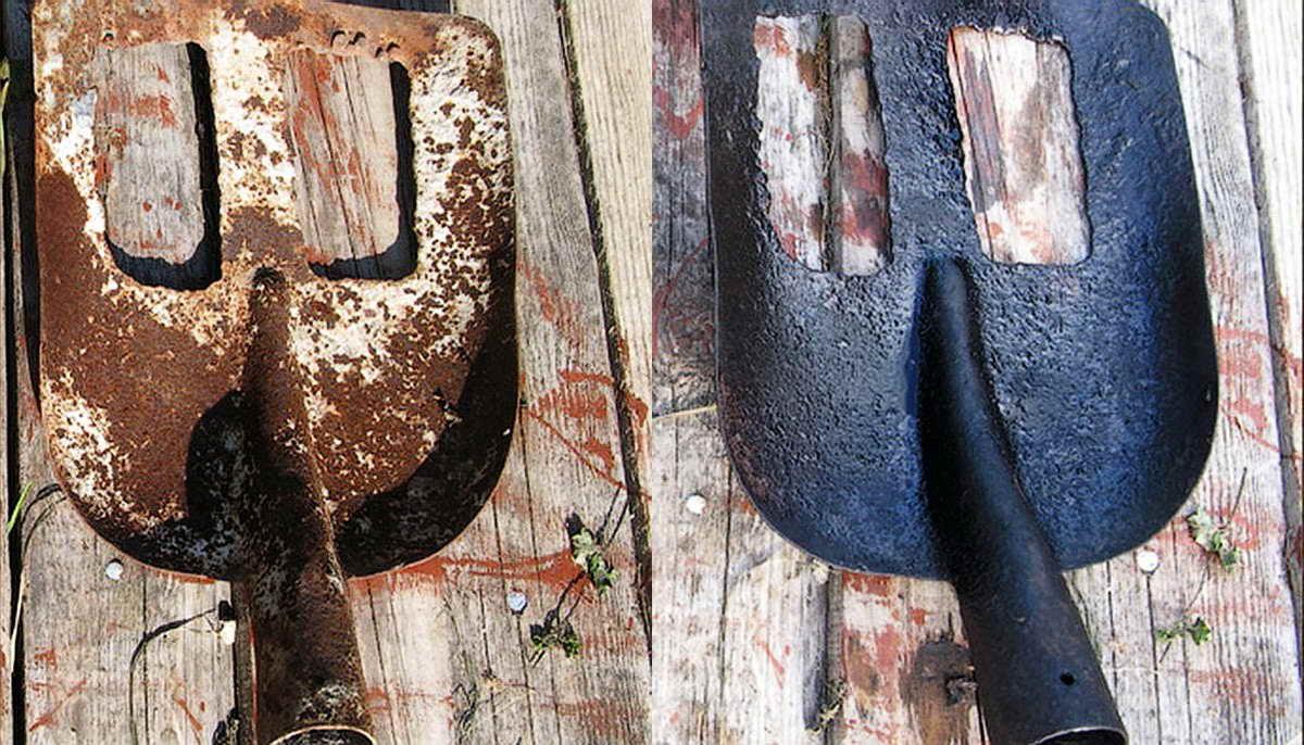 12 способов избавиться от ржавчины на металле в домашних условиях